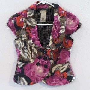 Anthropologie | Elevenses Floral Vest